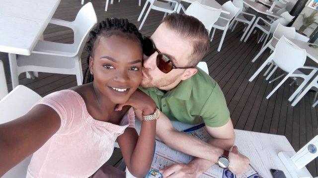 black woman white man