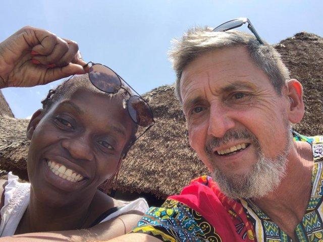 Interracial Couple Ully & Peter - Mombasa, Coast, Kenya