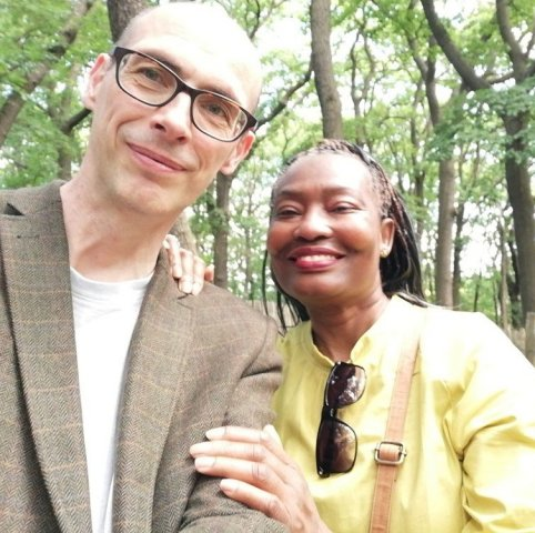 Black Women White Men - She Liked Him, and He Felt Likewise | InterracialDatingCentral - Eucharia & Richard